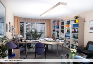 Büro von Frau Schütze